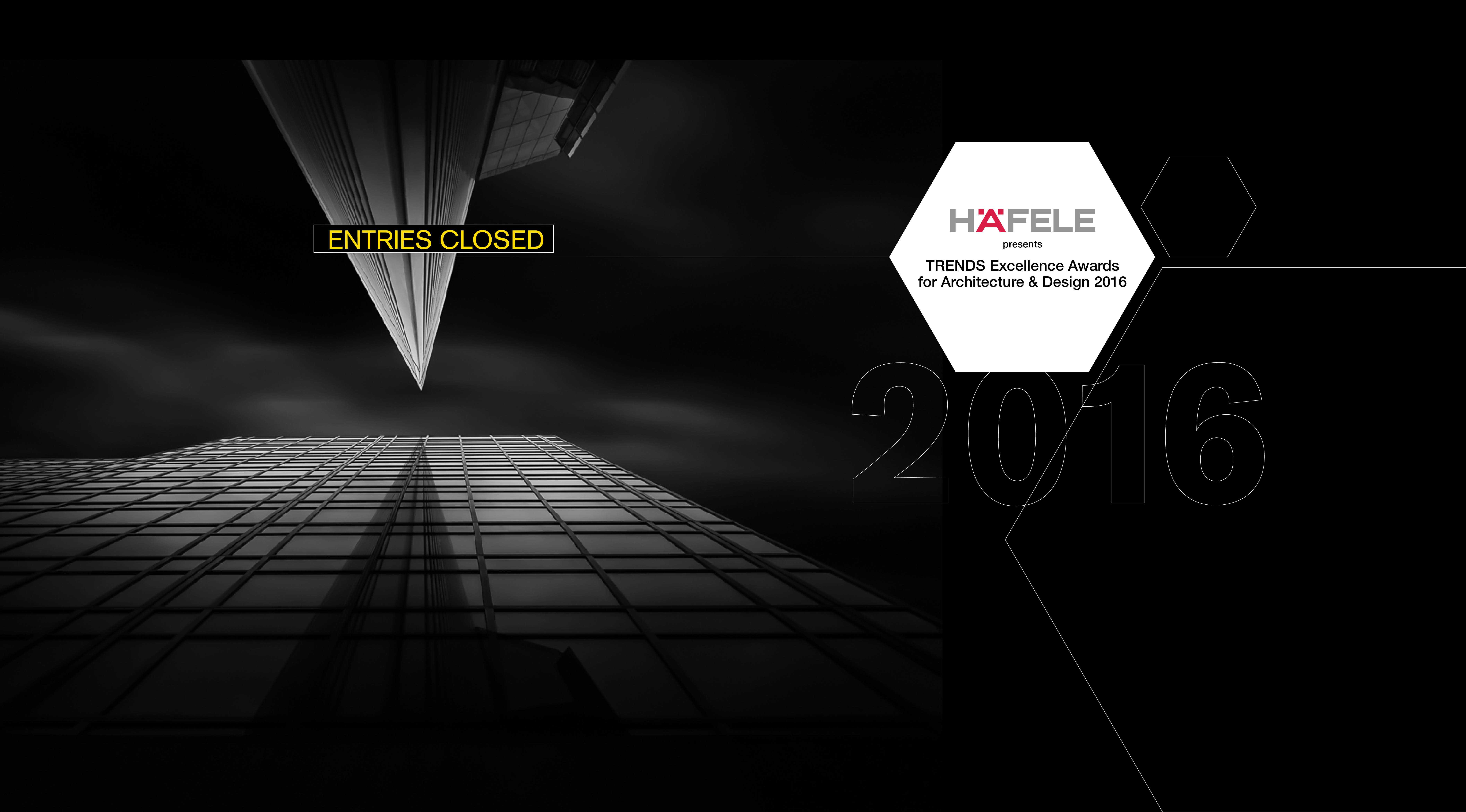 Hafele presents - TRENDS Excellence Awards for Architecture and Design 2015